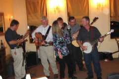 Lawsons Creek bluegrass at Molasses Grill