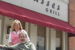 Molasses Grill owners, Chef Steve and Karen Schopen
