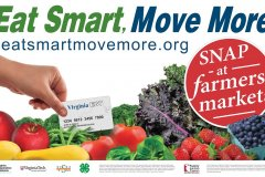 eat smart move more logo