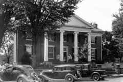 the Courthouse in the 1930's