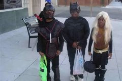 Ninja, Batman, and Hannah